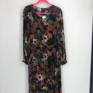 ECI Maxi Dress Floral Print.  Boho, casual, flowey